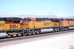 BNSF 6624 (Last built ES44C4 in the First Test Batch Series of 6600's) rolls west in a Consist of 11 Locomotives towards LA.